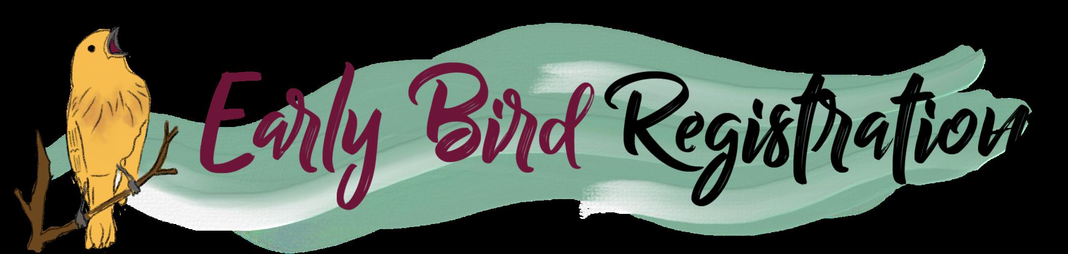 Early bird Registration Mentorship Circle